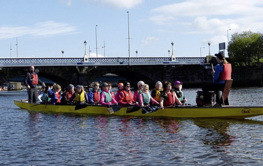 Outdoors: Dragons on the Lagan – breast cancer boat race in Belfast