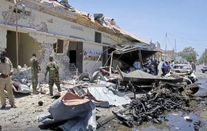 Massive car bomb explosion kills 7 in Somalia