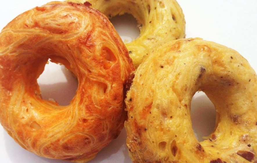 These spaghetti doughnuts may make you feel slightly uncomfortable