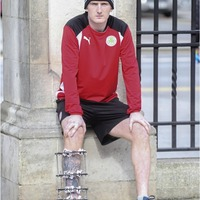Cliftonville's Ryan Catney - the Viking warrior