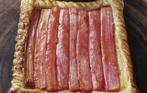 James Street South Cookery School: Rhubarb frangipane tart and apple turnover