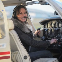 Carol Vorderman is hoping to reboot her flying ambitions after devastating news about her ill mum