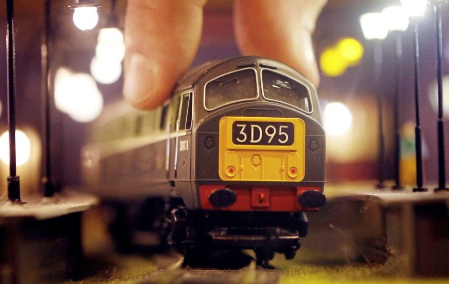 first model train