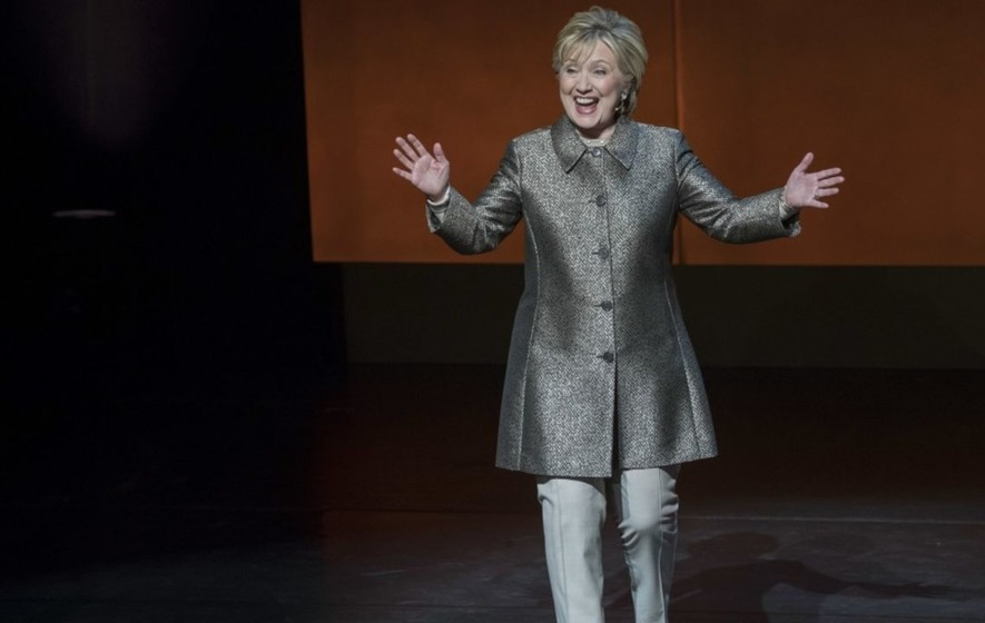 Hillary Clinton has revealed her favourite meme and it's a feminist's dream