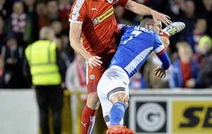 Cliftonville in struggle for third spot and Europe with in-form Coleraine