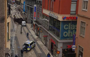 Four dead as truck driven into shoppers in Stockholm