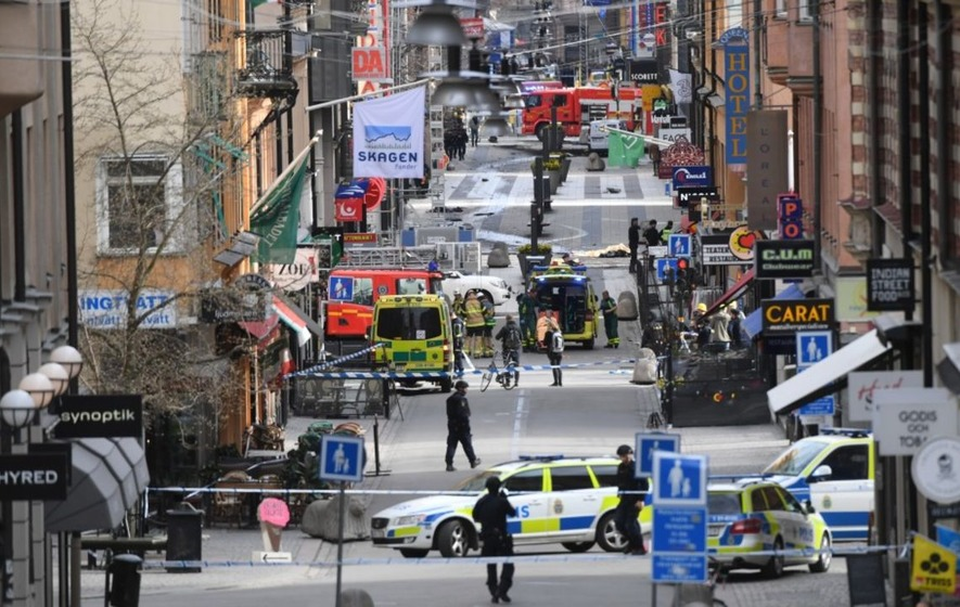 What we know about the truck attack in Stockholm on Friday night