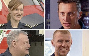Massive sea search fails to locate missing Irish Coast Guard crew members
