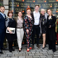 So here's what's happening at the Olivier Awards tonight