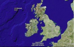 Rockall on tip of a vast 'submerged continent'