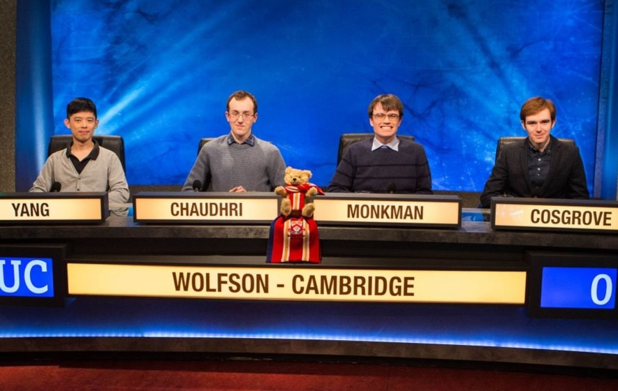 Eric Monkman will return in the big University Challenge showdown tonight