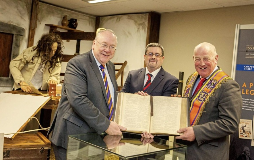 Orange Order exhibition sheds light on Reformation 500 years on