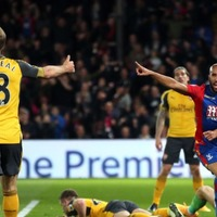 The contrast between Crystal Palace and Arsenal fans after Monday's football is a thing to behold
