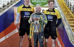 Donegal U21 manager Declan Bonner dedicates Ulster title to terminally ill coach Pat Shovelin