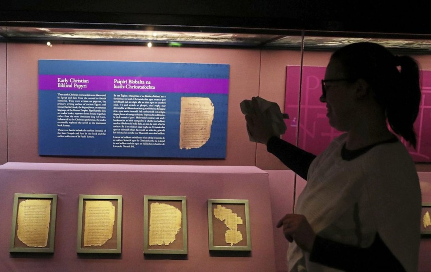 Some of oldest surviving biblical manuscripts go on display in Dublin's Chester Beatty Library