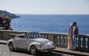 Sorrento's such a gorgeous setting for a family wedding