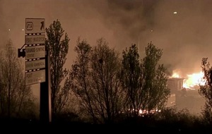 Whereabouts of hundreds of refugees unknown following fire at French camp