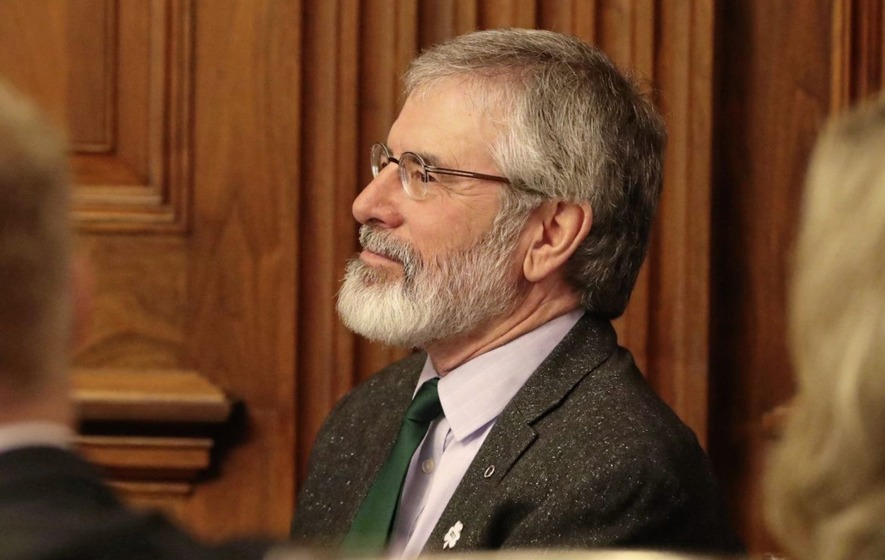 Adams bemoans lack of DUP engagement but indicates talks could continue next week