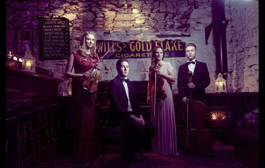Cork-based quartet Strung are adding some classical to trad's bow