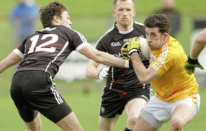 Antrim forward Ryan Murray faces race against time after being sidelined for six weeks with shoulder injury