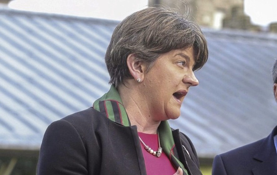 Arlene Foster reveals plans to meet Gaeilgeoirí following government ultimatum to reach devolution deal