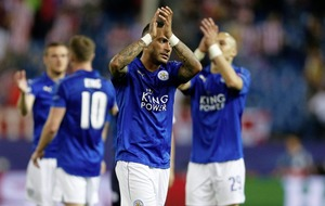 Leicester curse controversial penalty as Madrid giants and Monaco record Champions League victories
