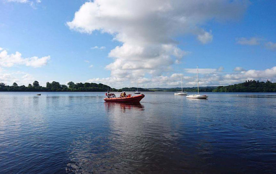 Young mother dies after falling from boat in Lough Erne
