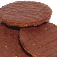 Wait, McVitie's says the chocolate is on the bottom of a Hobnob...?
