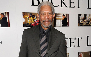 Hollywood star Morgan Freeman spotted in Belfast