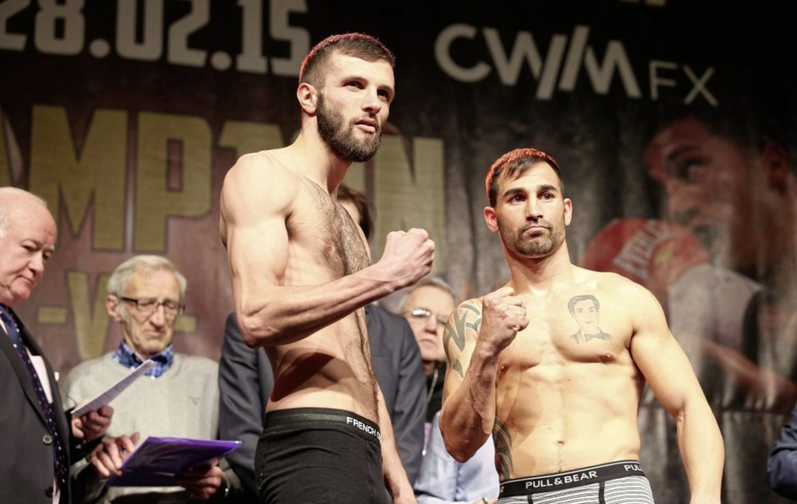 Belfast venue is favourite for Anthony Cacace British title showdown