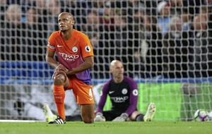 Manchester City manager Pep Guardiola keen to keep 'high level' Kompany