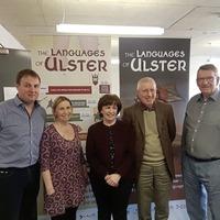 DUP MEP Diane Dodds met Irish language students during visit to east Belfast charity