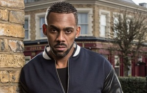 Richard Blackwood revisits rap skills for EastEnders