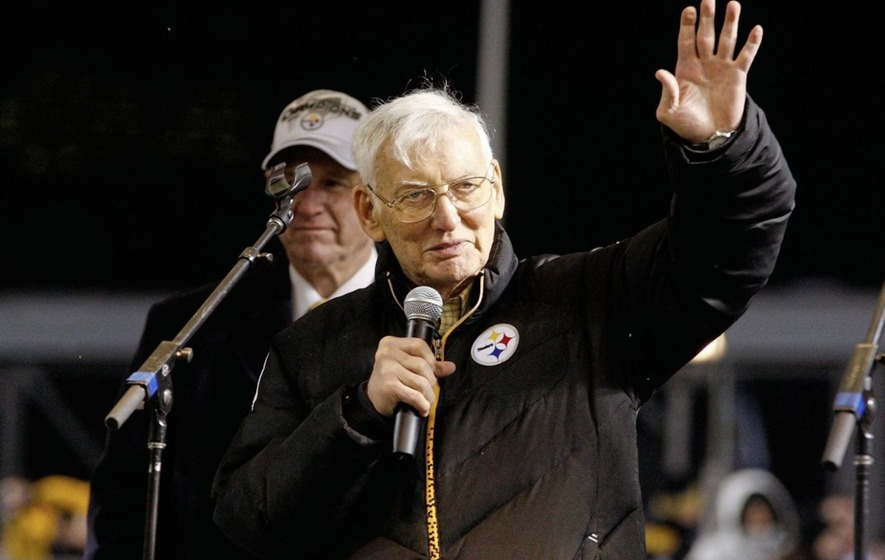 Pittsburgh Steelers chairman Dan Rooney (84) had strong links with Newry