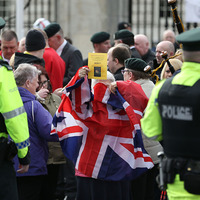 Call for calm ahead of British army veterans rally and republican counter parade