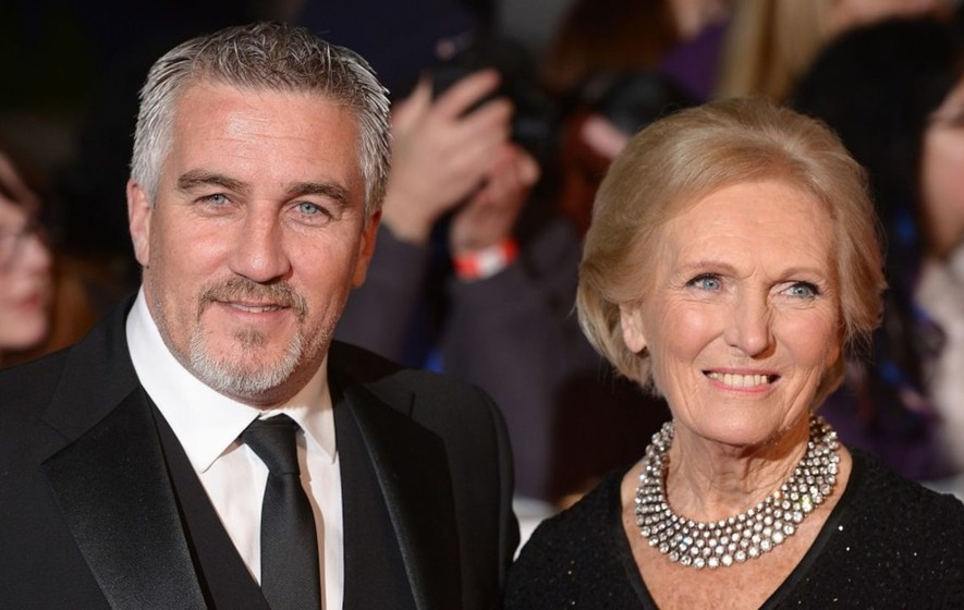 Paul Hollywood 'cheats' on Mary Berry in smiley selfie with GBBO's Prue