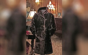 Fur coat worn by Titanic stewardess expected to fetch £80,000 at auction