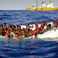 Meeting 'the real flesh of Christ' amid suffering and hope in Lampedusa
