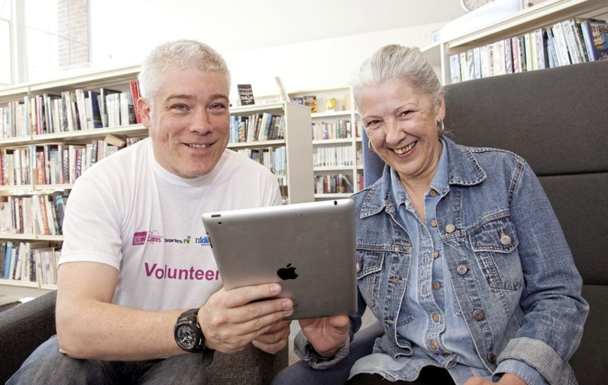 Free support for over 50s to get online