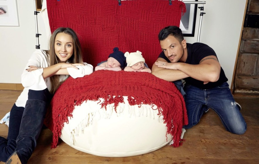 Celeb dad Peter Andre investigates parents' superpowers
