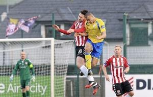 Finn Harps inflict third successive league defeat on Derry City