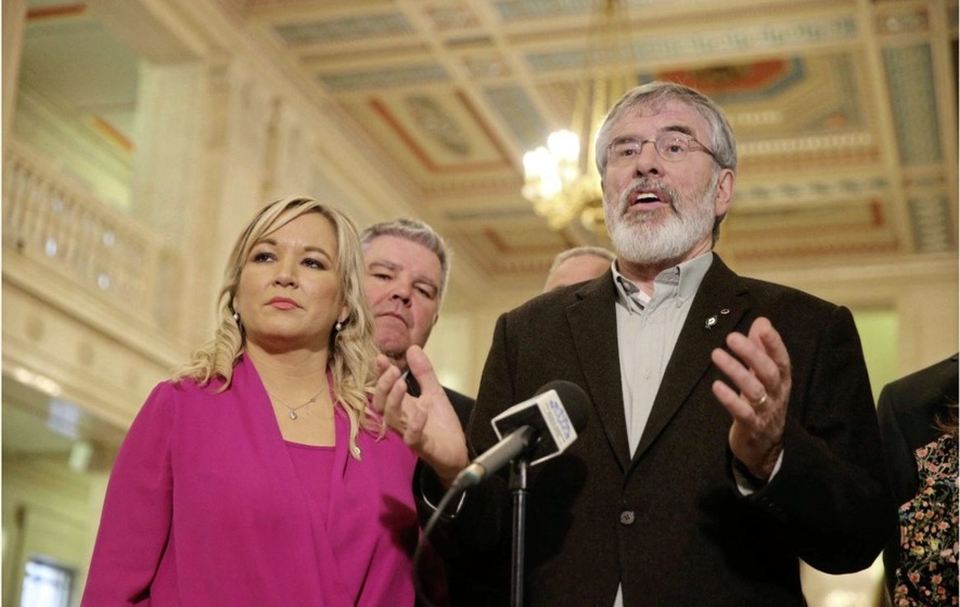 Poll shows dip in support for Sinn Féin