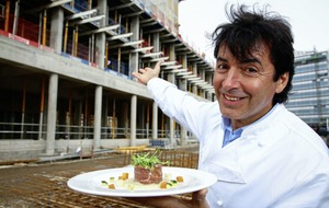 Chef Jean-Christophe Novelli tells of 'Easter miracle' after almost losing wife and baby son