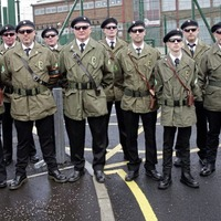 Notorious IRA unit takes part in Falls Road march