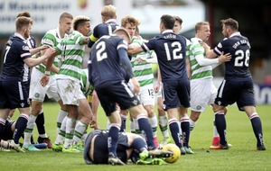 Celtic boss Brendan Rodgers rages at referee as last-gasp Liam Boyce bites Bhoys