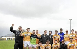 Conor Johnston hat-trick guides Antrim to 16th successive Ulster hurling title