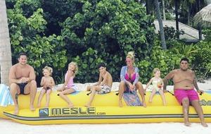 Leona O'Neill:  Katie Price's holiday snaps cause online stir