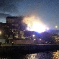 Dozens of firefighters tackle 'suspicious' blaze in Portrush