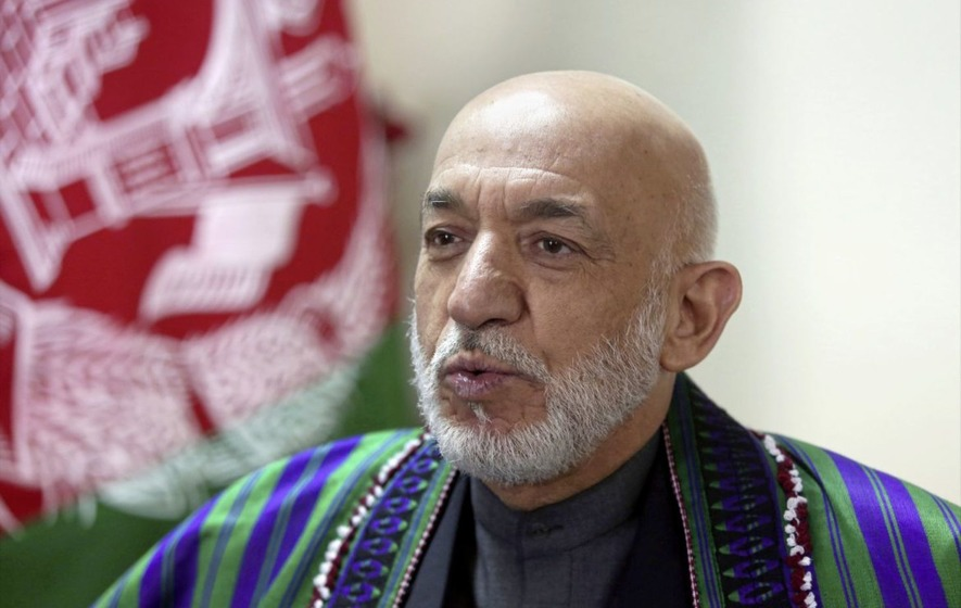 US use of Moab 'an immense atrocity against the Afghan people' says ex-president Hamid Karzai