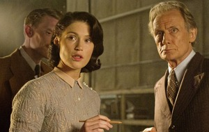 Bill Nighy and Gemma Arterton in wartime comedy Their Finest